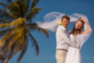 символическая свадебная церемония на Кубе