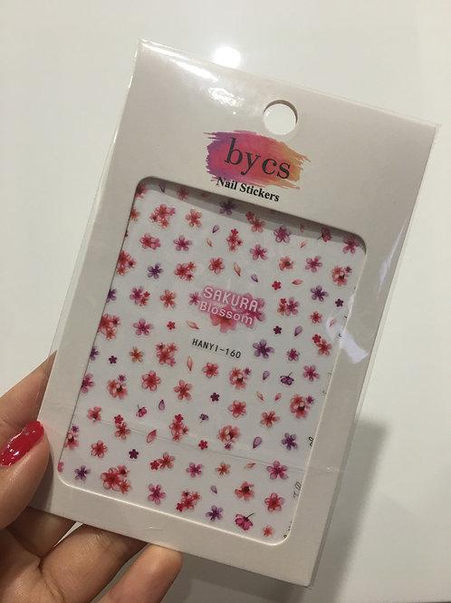 ByCS Sakura Blossom Nail Sticker