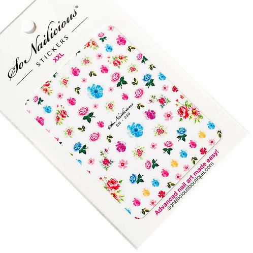 SN Heavenly Blooms Nail Stickers