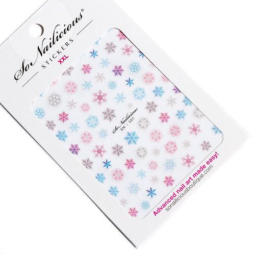 SN Watercolour Snowflakes