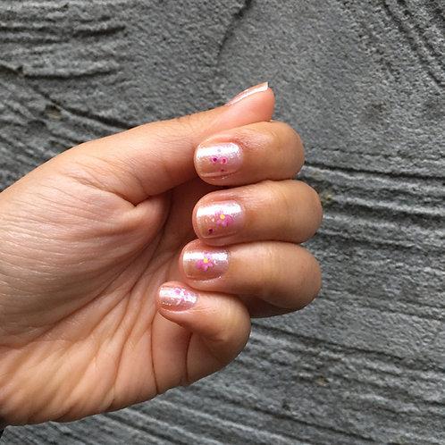 ByCS Pink Sakura Nail Sticker