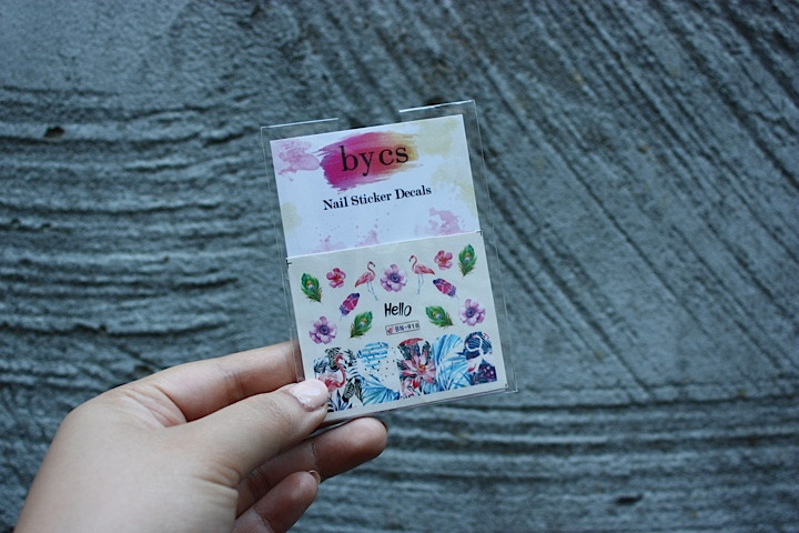 Summer Nail Art Stickers