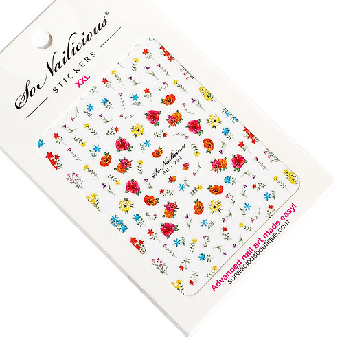 SN Floral Rhapsody Nail Stickers