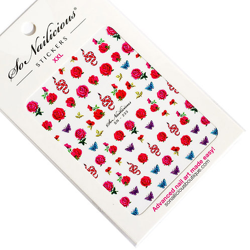 SN Garden of Eden Nail Stickers