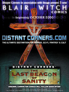 Blair Witch / Distant Corners crossover ad