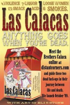 Las Calacas, promotional postcard