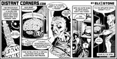 Distant Corners, promotional comic strip