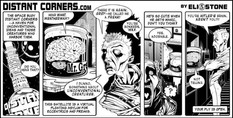 Distant Corners, promotional comic strip