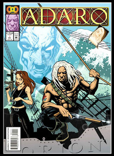 Adaro, promotional comic cover