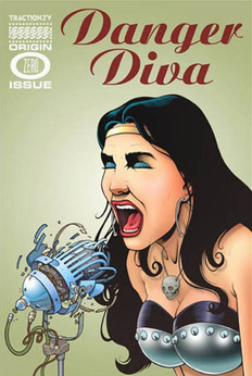 Danger Diva, promotional comic book cover