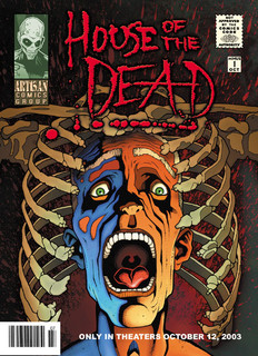 House of the Dead, cover for promotional comic