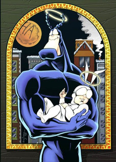 The Tick Christmas Special, cover