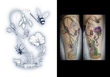 Tattoo design for Laura Joubert-Young