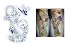 Tattoo design for Laura Joubert-Young