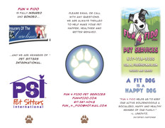 Fun 4 Fido, printed pamphlet
