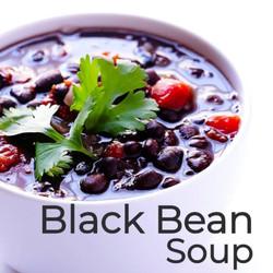 15-Minute Black Bean Soup