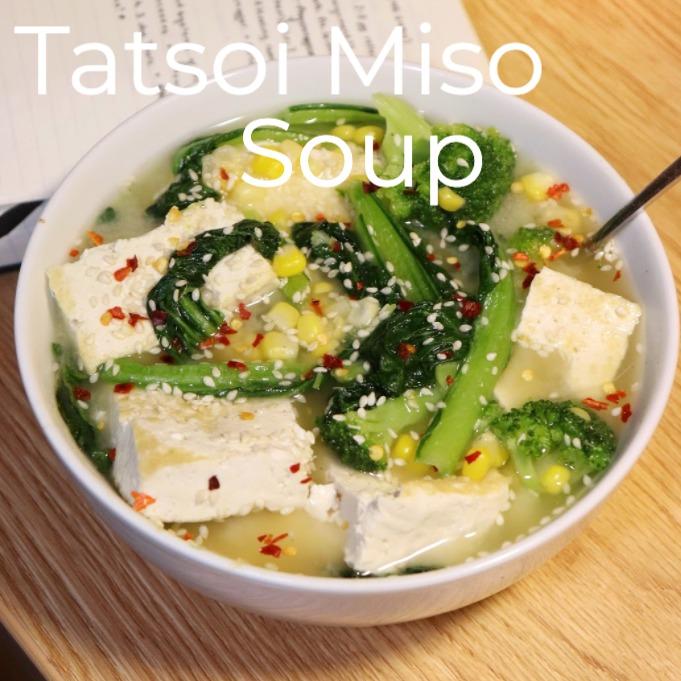 Tatsoi Miso Soup