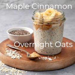 Maple Cinnamon Overnight Oats