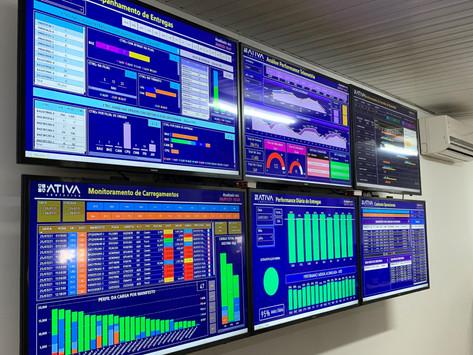 Torre de controle integra processos e garante alta perfomance de operações logísticas