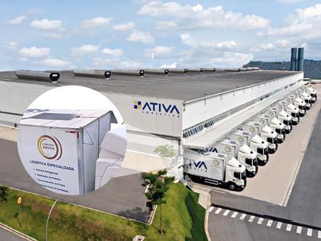Frota da Ativa Logística opera com energia solar