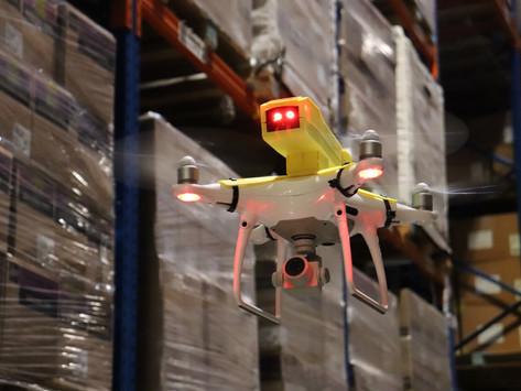 DHL Supply Chain usa drone para aprimorar gestão de estoque