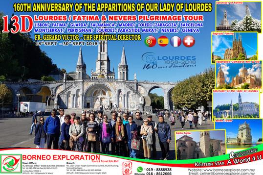 13D Lourdes Fatima & Nevers (18-30.09.18