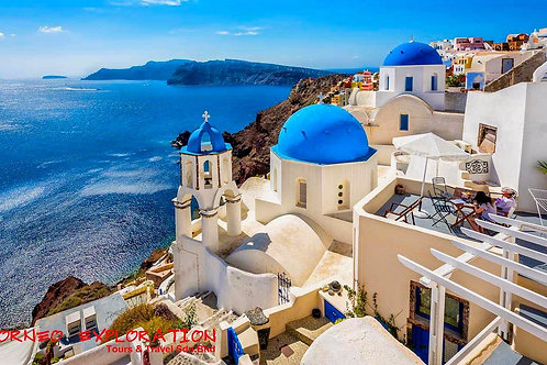 8 DAYS TASTE OF GREECE + MYKONOS + SANTORINI  Price From
