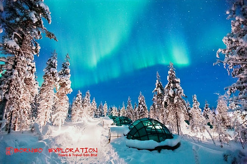 8 DAYS EXPLORE FINLAND THE LAPLAND WITH NORTHERN LIGHT HUNTING + POLA Price From
