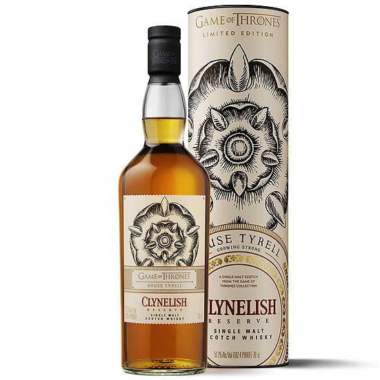 Game of Thrones Clynelish 'House Tyrell'