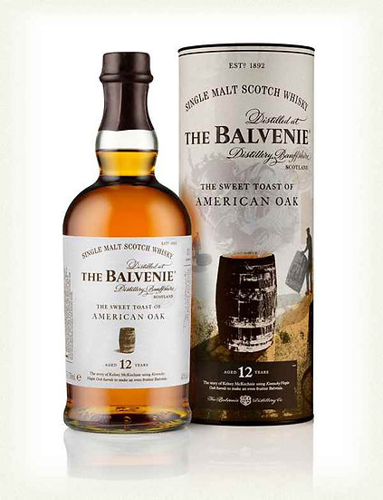 Balvenie 12YO 'Sweet Toast of American Oak' 50ml Sample