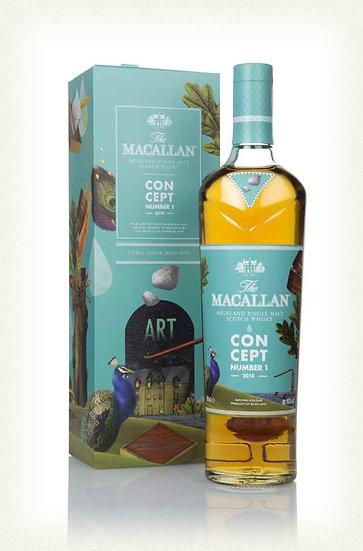 Macallan 'Concept' No1 50ml Sample
