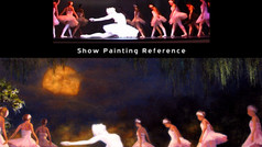 Ballet Series painting I