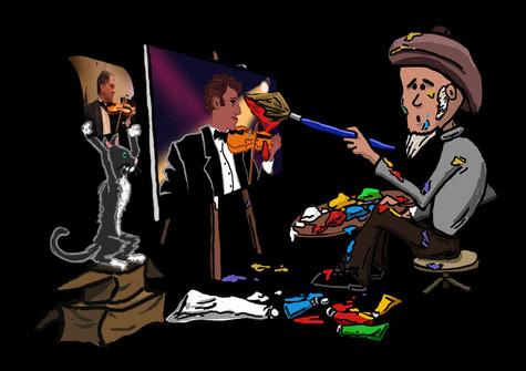 Cartoon graphics