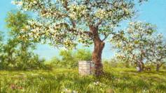 """""""Beekeeping Series Painting I"""""""