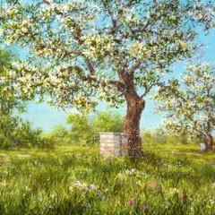 Beekeeper Series Painting 1