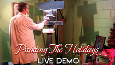 Painting the Holidays - live demo