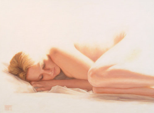 "Innocence 12"" x 16"" Canvas Reproduction"