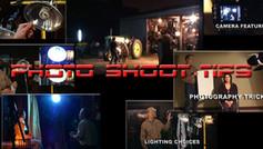 Photo Shoot Tips