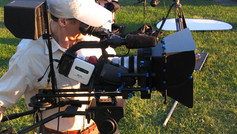 Filming our plein air (outdoor) painting series.