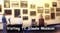 T.C. Steele Museum visit