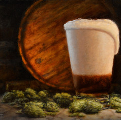 Pint With Hops I