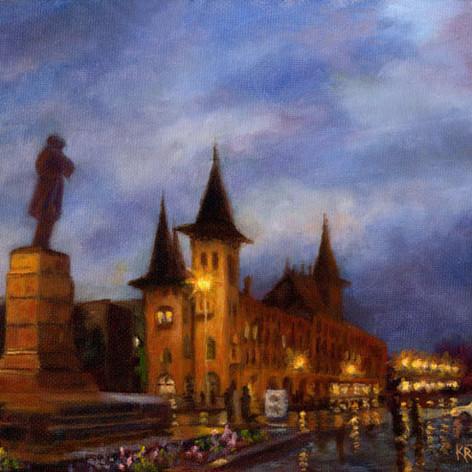 Evening in Saratov