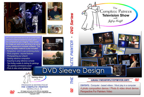 DVD sleeve design