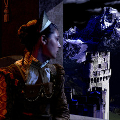 girl in castle reference creation