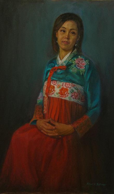 Lala in Korean Gown