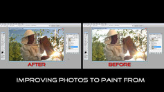 Improving reference Photos