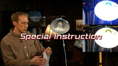 Lighting for photos and painting studios
