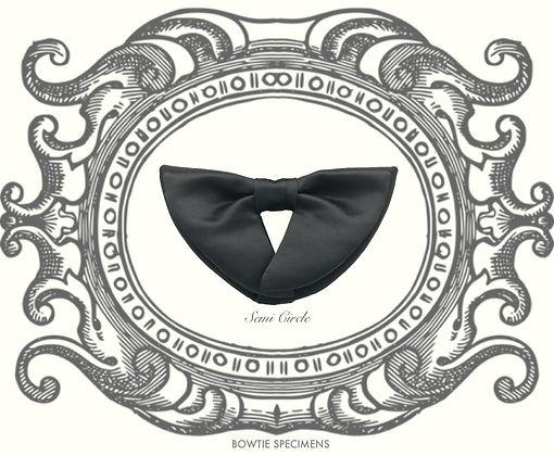 Semi,Circle,セミサークル,半円形,蝶ネクタイ,ボウタイ,ブランド,標本,通販,bow tie,specimens,types,brand,japan