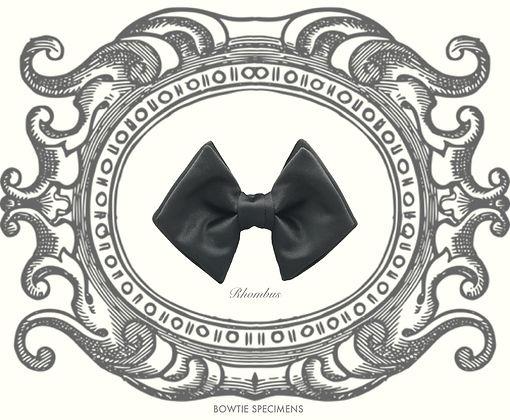 ロンバス,ひし形,蝶ネクタイ,ボウタイ,ブランド,標本,通販,bow tie,specimens,types,brand,japan