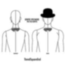 ティアード,スクエアエンド,蝶ネクタイ,種類,ブランド,bow tie,history,pattern